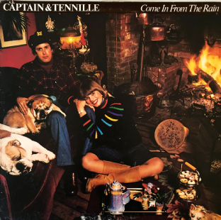 Captain And Tennille ‎- Come In From The Rain (LP) (VG-/G+)